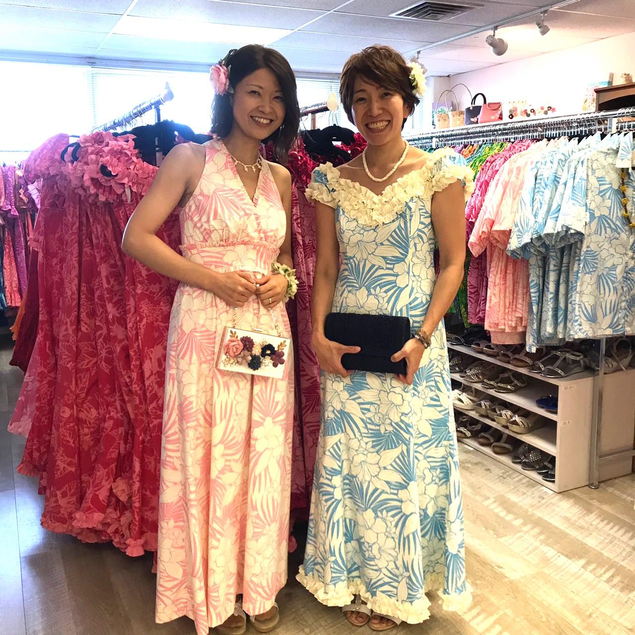 結婚式の参列衣装を楽々レンタル「ムームーレインボー (Muumuu
