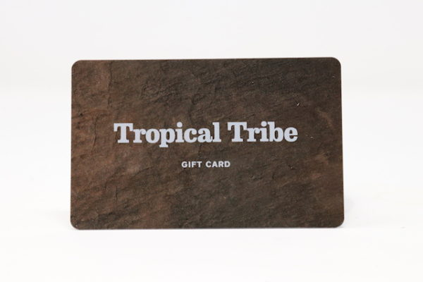 Tropical Tribe Giftcard