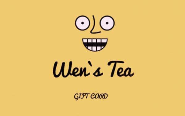 Wen's Tea ギフトカード
