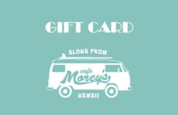 Cafe Morey's ギフトカード