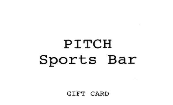 Pitch Sports Bar ギフトカード