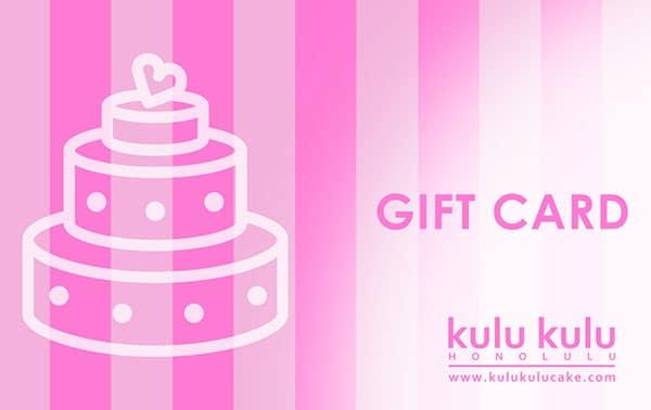 Kuku Kulu Gift Card