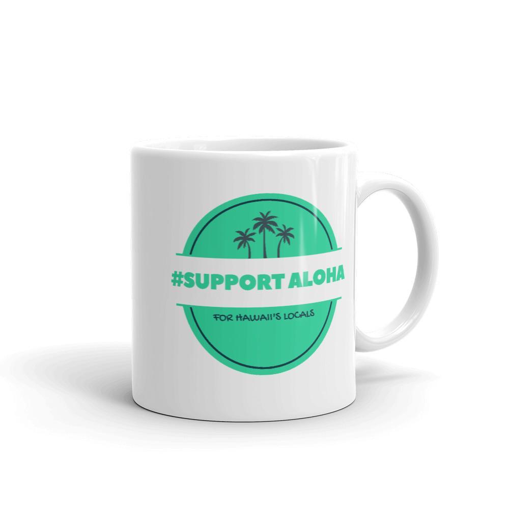 Mug # SUPPORT ALOHA Series Palm Tree