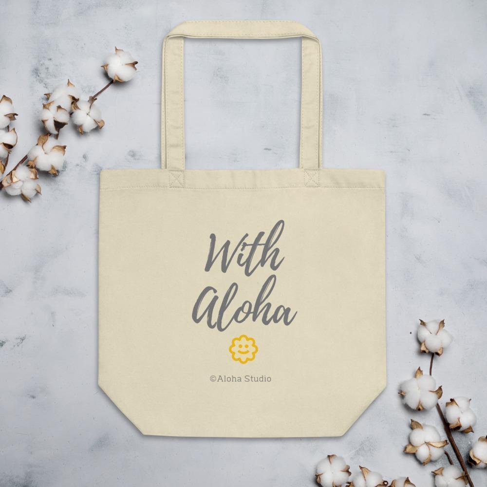 Eco Tote Bag with Aloha