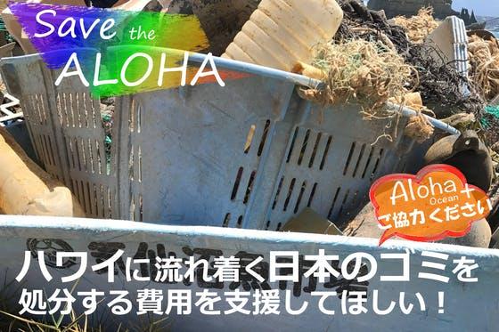 ハワイに流れ着く日本のゴミを処分する費用を支援して欲しい! - CAMPFIRE (キャンプファイヤー)