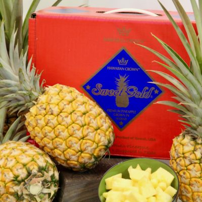 Hawaiian Crown | Fresh Hawaii Pineapple | Hawaii Chocolate
