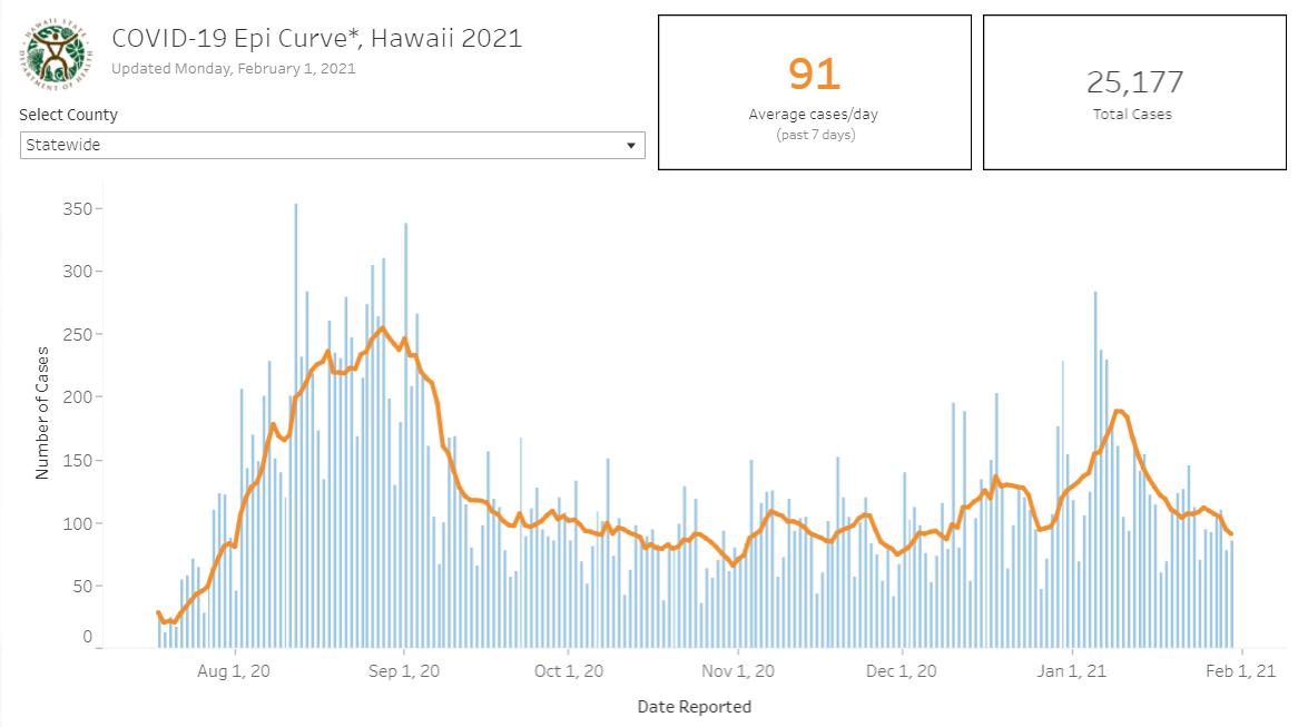 COVID-19 Epidemic Curve