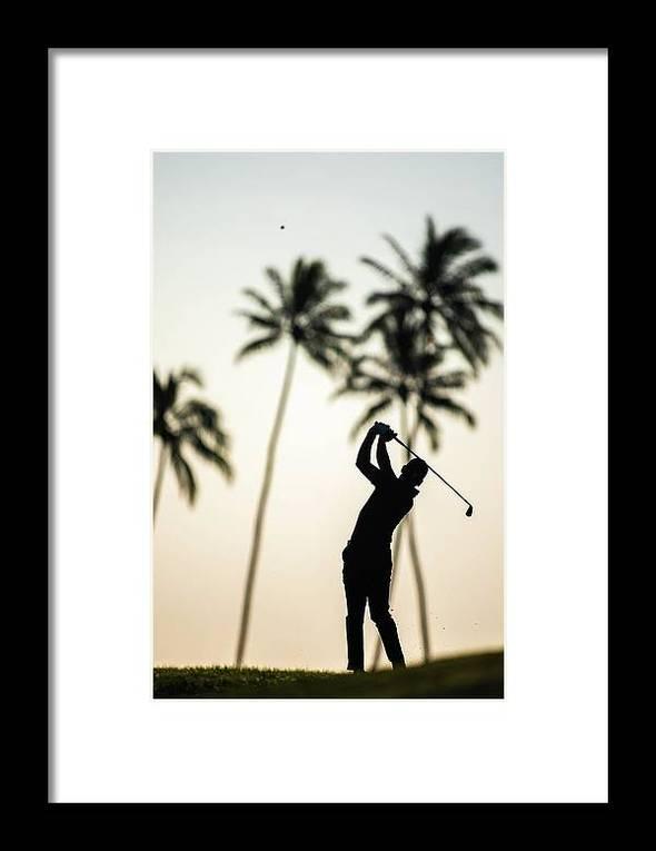 Sunrise in Waialae - Framed Print