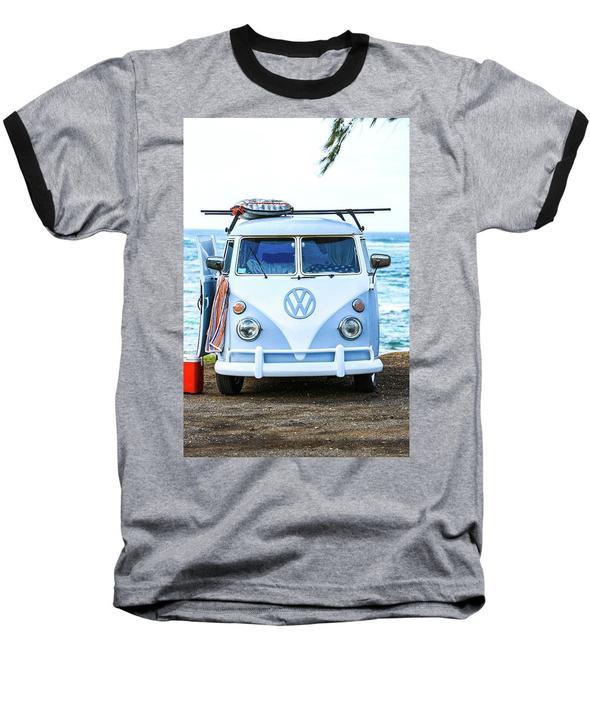 Island Style VW Bus - Baseball T-Shirt