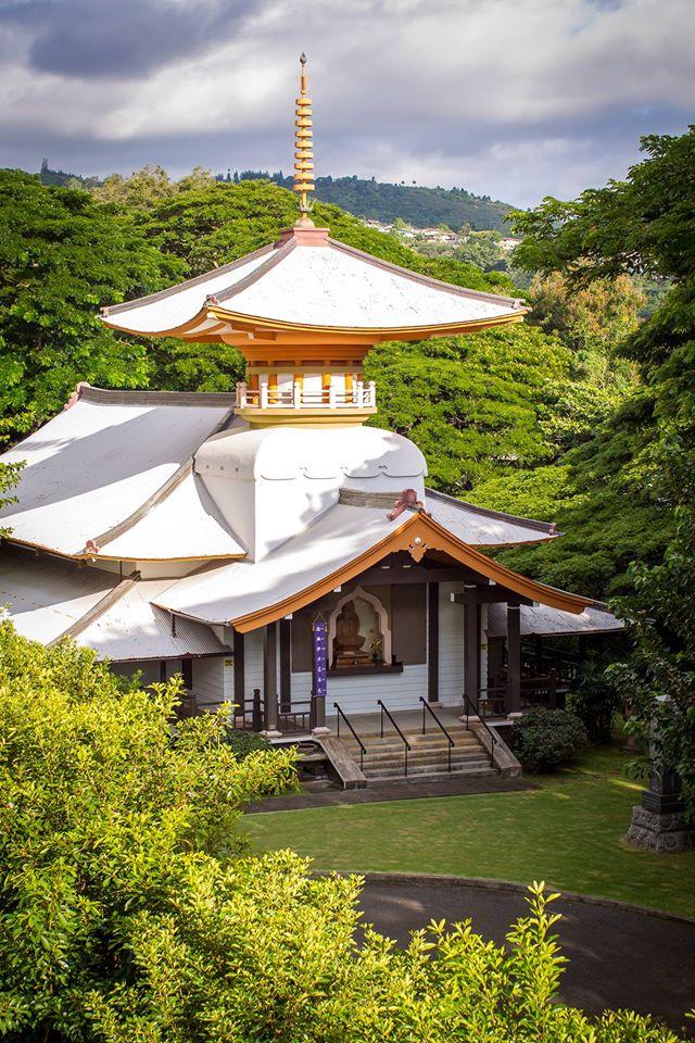 Honolulu Myohoji Mission Buddhist Temple in Hawaii 日蓮宗 ホノルル妙法寺