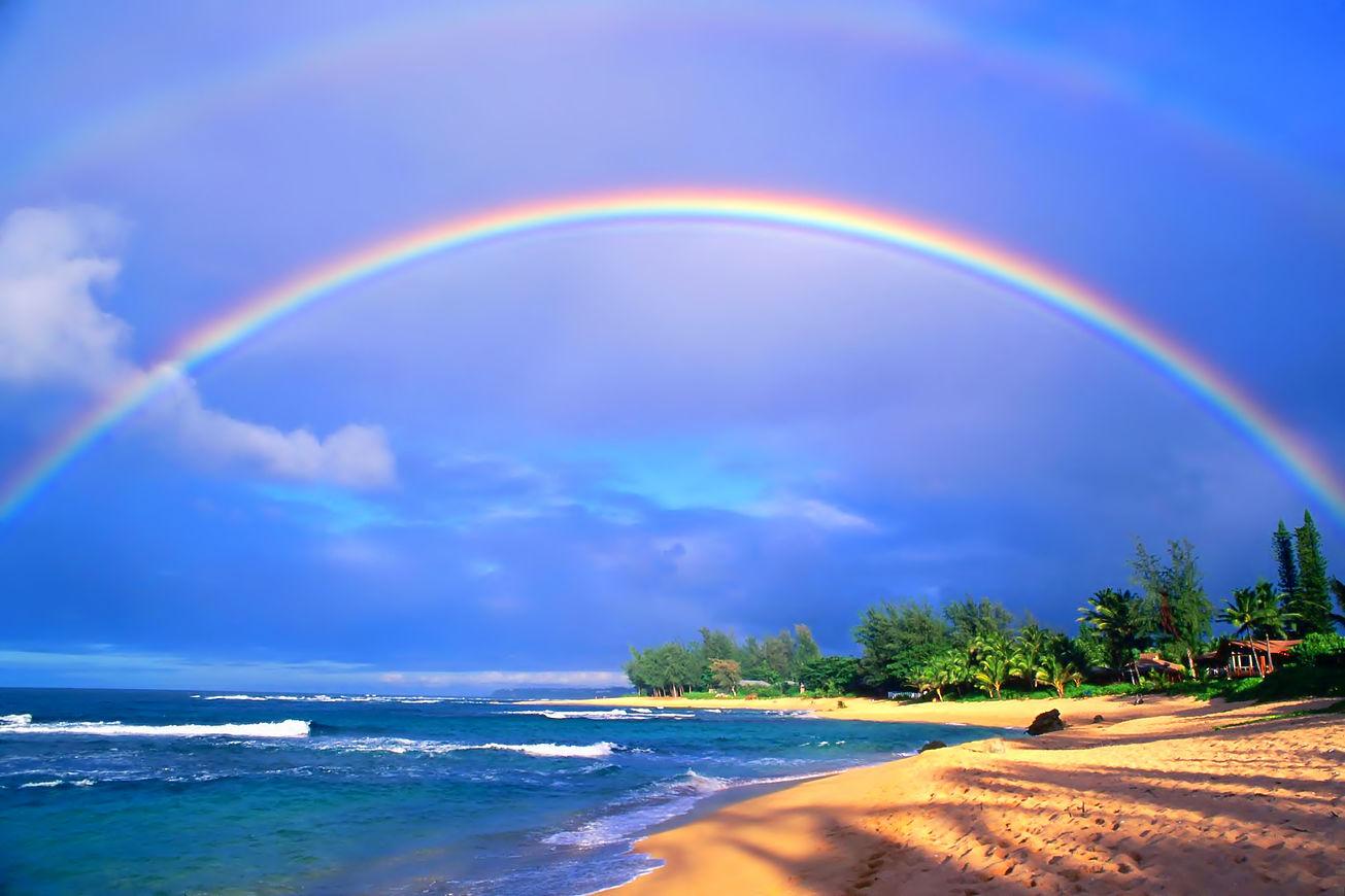 これを見れたら幸せになれる ハワイの秘密 ムーンボーとは Aloha