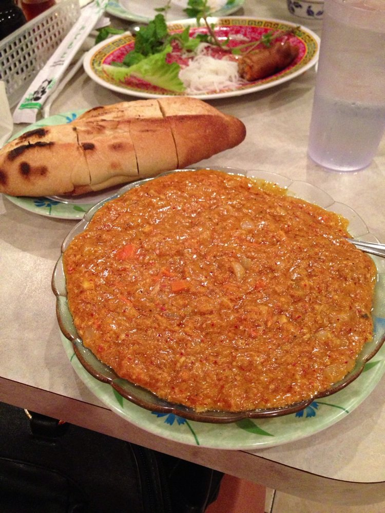 crab meat curry with french bread   Yelp