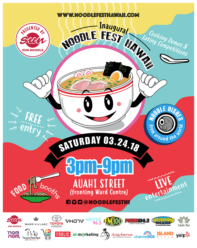 Noodle Festival Hawaii – Presented by Sun Noodle – Noodle Festival in Hawaii – Presented by Sun Noodle