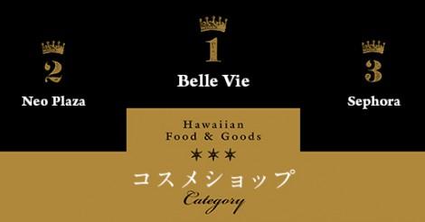 【111-Hawaii Award 2017 完全版】ファッション・ビューティ・レジャー部門第1位全15店一覧 | ALOHA GIRL