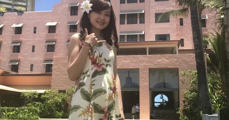 アイドルグループ「渡良瀬橋43」の大塚みかさんがハワイへ!! | ALOHA GIRL