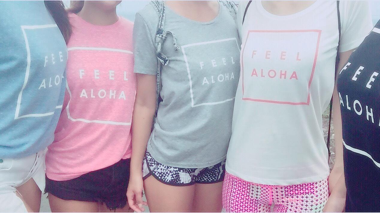 FEEL ALOHA Tシャツをみんなでまとめ買いのチャンス!